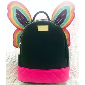 NWT🔥Betsey Johnson Butterfly Backpack